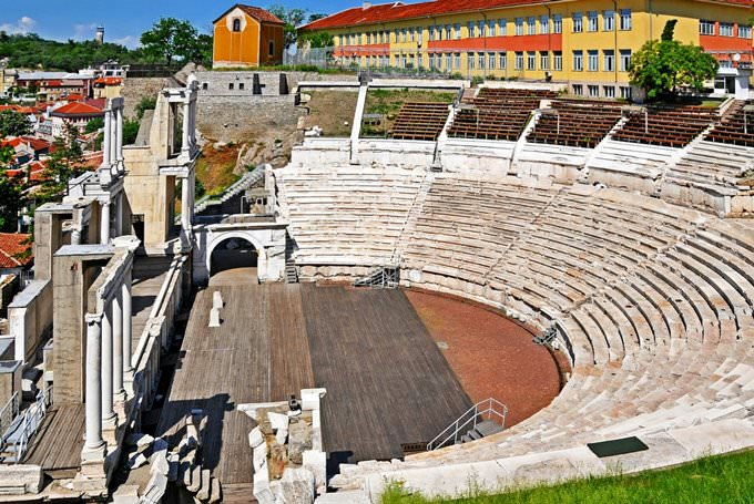 Bulgaria-0776 - Roman Theatre of Philippopolis