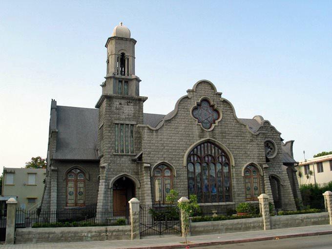 Methodist Church on Villa Street in Ponce, Puerto Rico