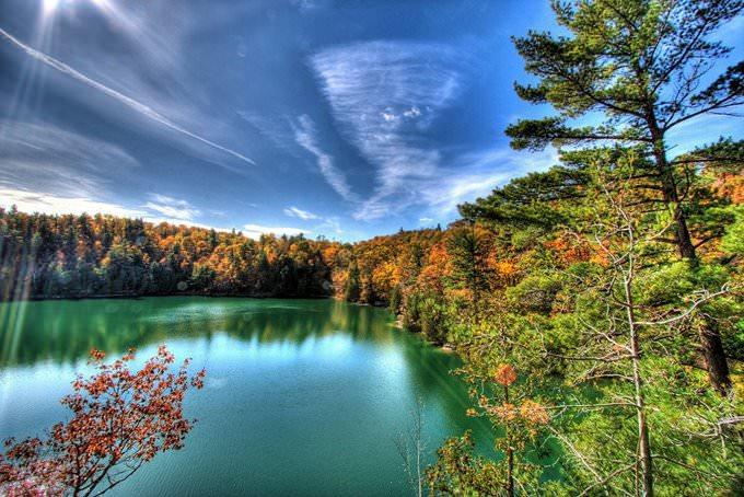 Pink Lake - Gatineau Park, Quebec