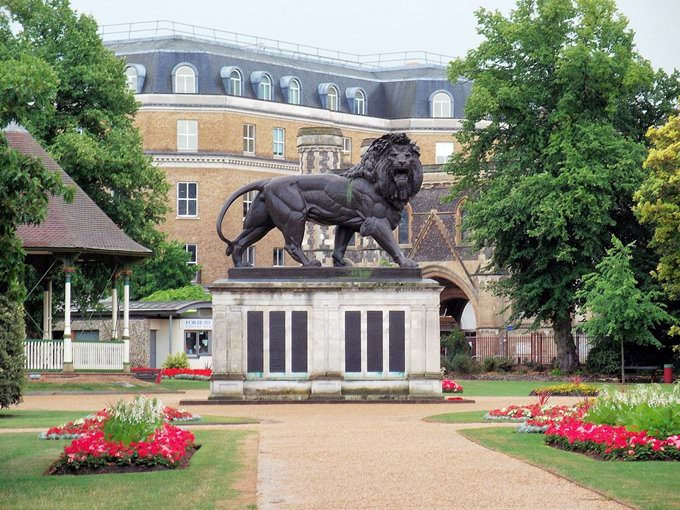 The Maiwand Lion, Forbury Gardens, Reading