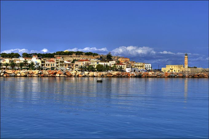skyline of Rethymno