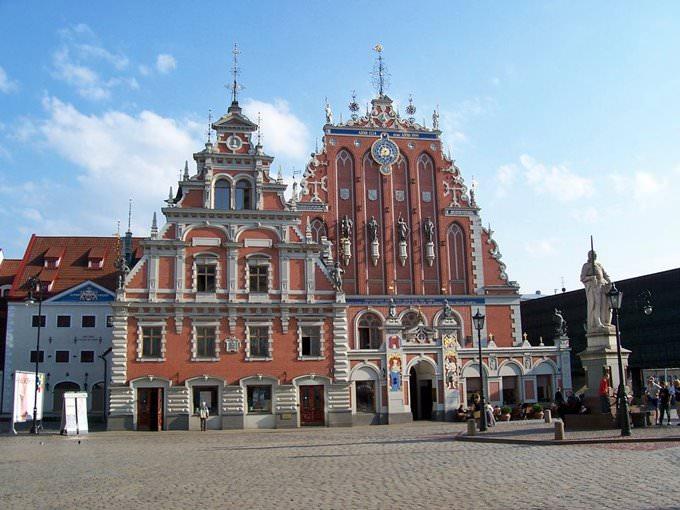 Riga - Schwarzhaupterhaus