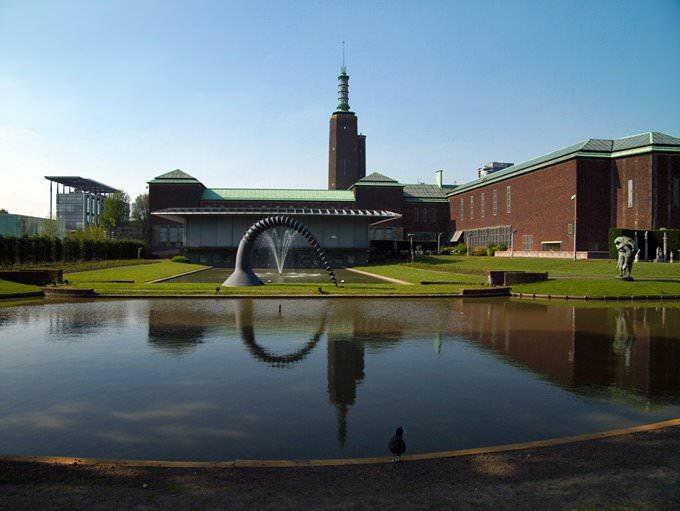 In Rotterdam: Boijmans museum