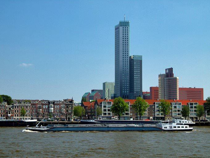 Maas in Rotterdam