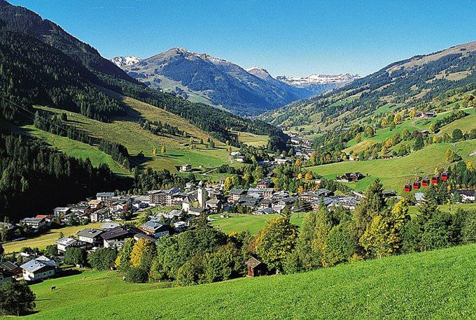 Saalbach Hinterglemm im Sommer
