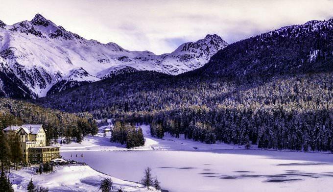 Pink Moritz, Sankt Moritz, Switzerland