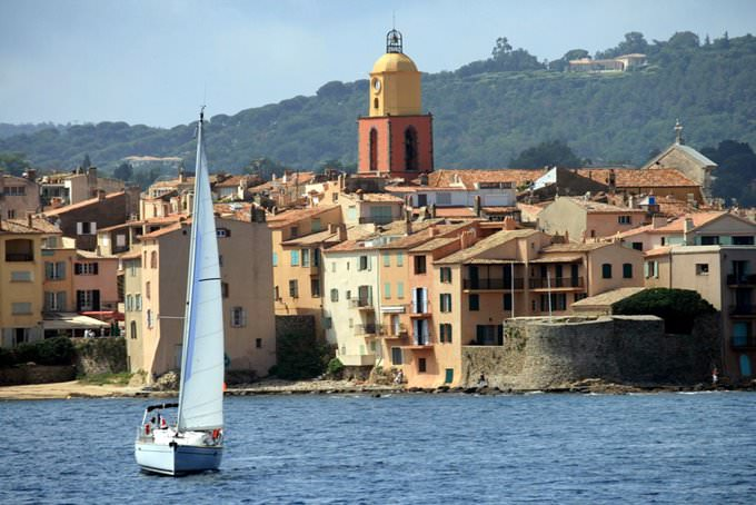 Saint Tropez from the Sea