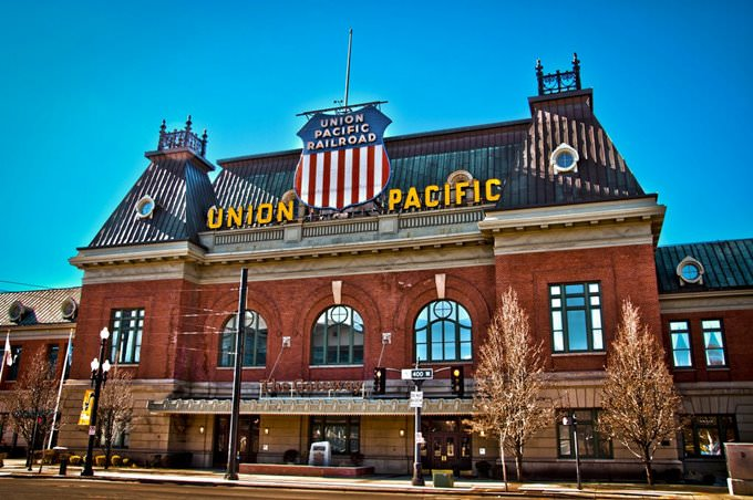 Union Pacific Depot in Salt Lake City, Utah