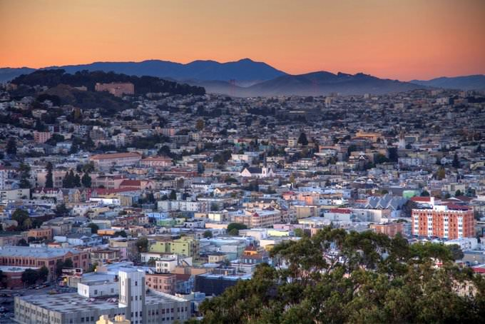 Bernal sunset