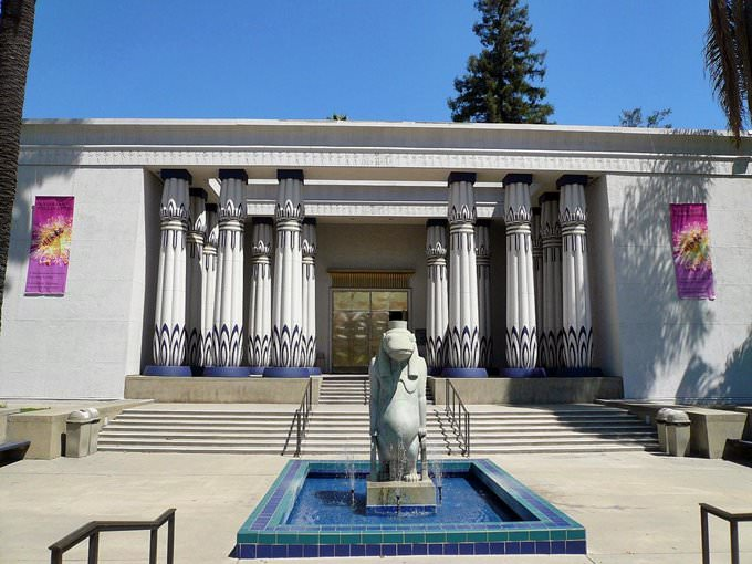 Main Entrance Rosicrucian Egyptian Museum and Planetarium San Jose