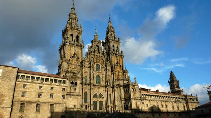 The Cathedral in Santiago de Compostela