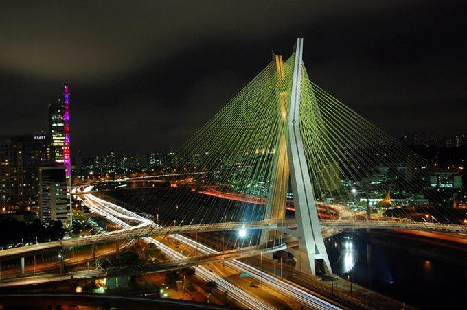Ponte Estaiada - Sao Paulo - Brazil