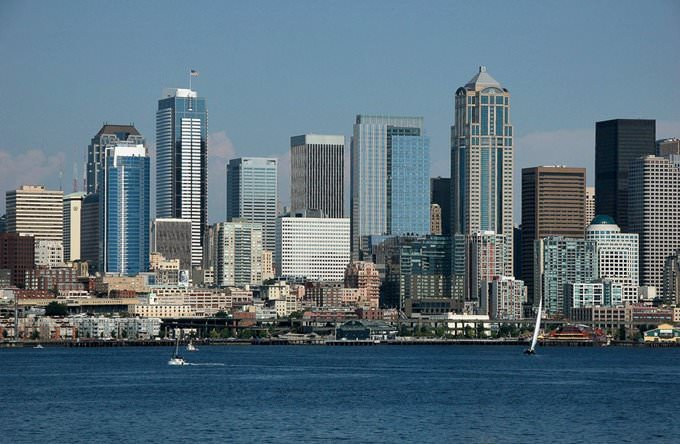 Seattle Washington Cityscape