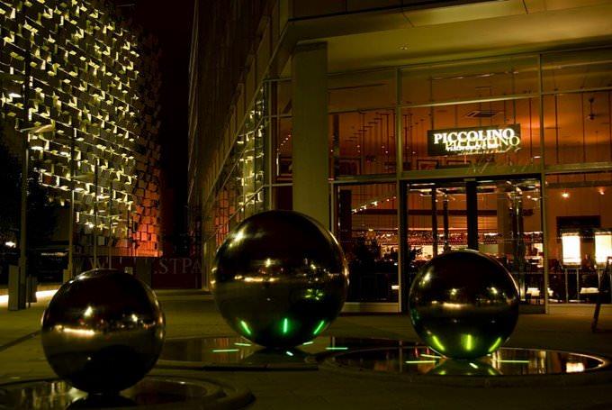 St Pauls and Piccolino at Night