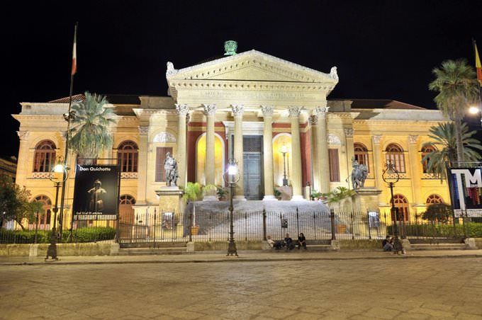Teatro Massimo - Palermo Italy
