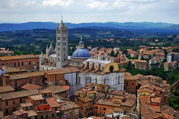 Siena Cathedral From Tower