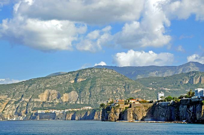 Leaving Sorrento