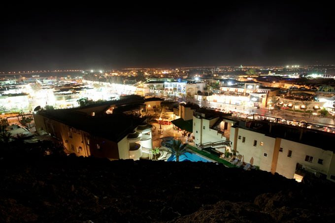 Sharm El Sheikh. Naama Bay night