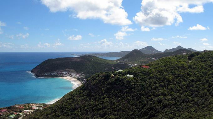 St Barts - View from Colombier