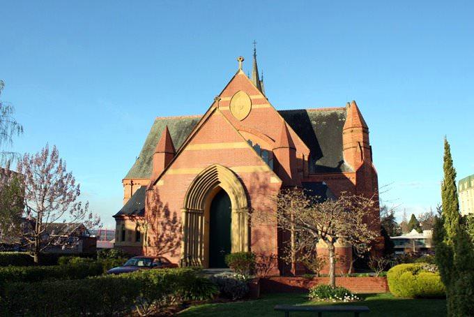 Tasmania - Holy Trinity Anglican church