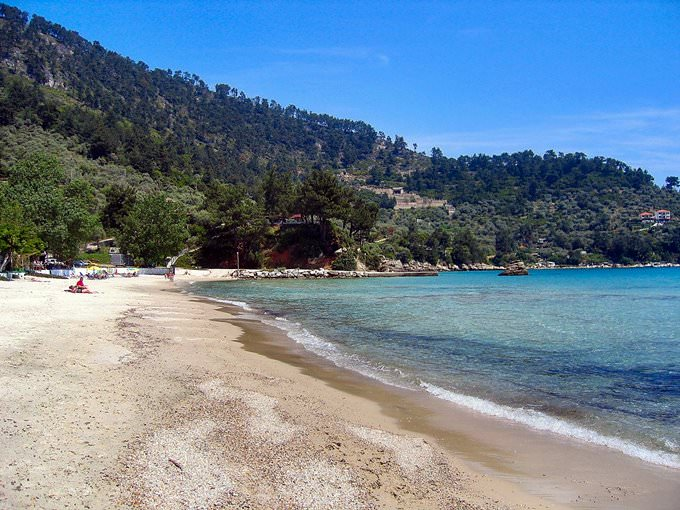 Golden Beach. Thassos