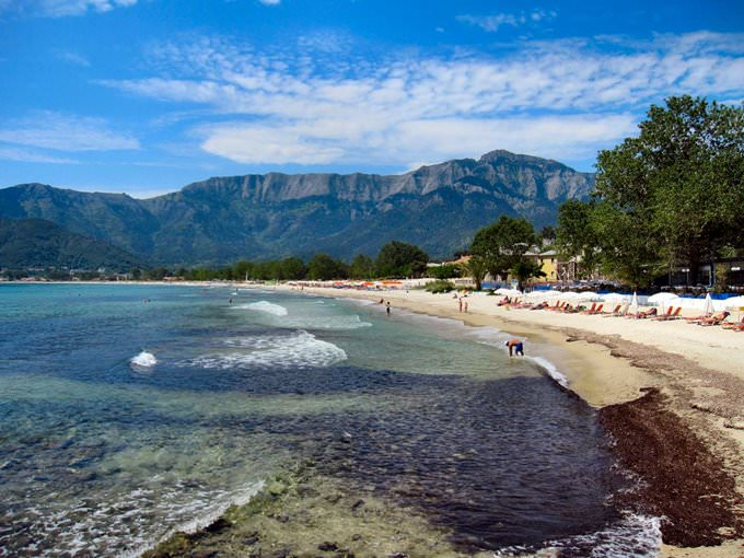 THASSOS. GOLDEN BEACH