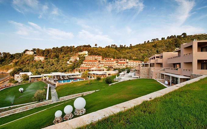 Outside view of the Kassandra Bay, Family Hotel & Resort