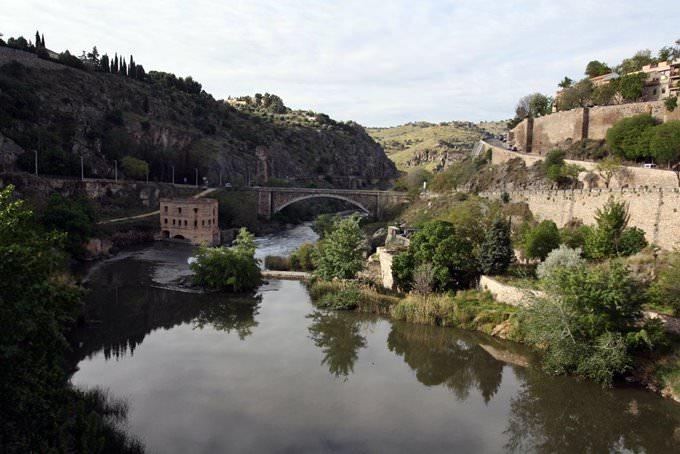 Rio Tajo pasando por Toledo