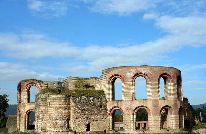 Roman baths in Trier