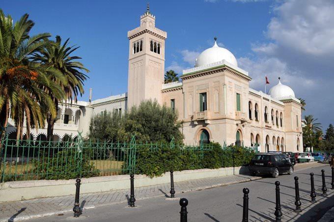 College Sadiki à Tunis