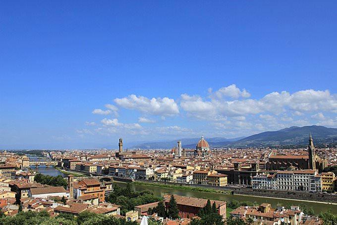 Florencia desde el Piazzale di Michelangiolo