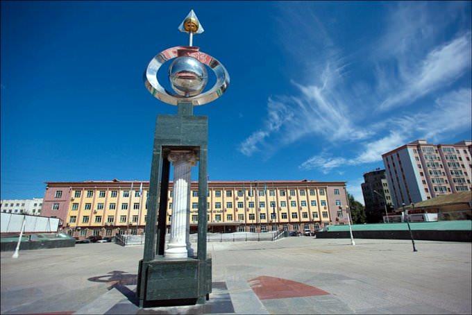 very nice sculpture in Ulaanbaatar
