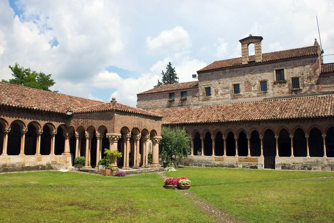Cloister of Basilica di San Zeno