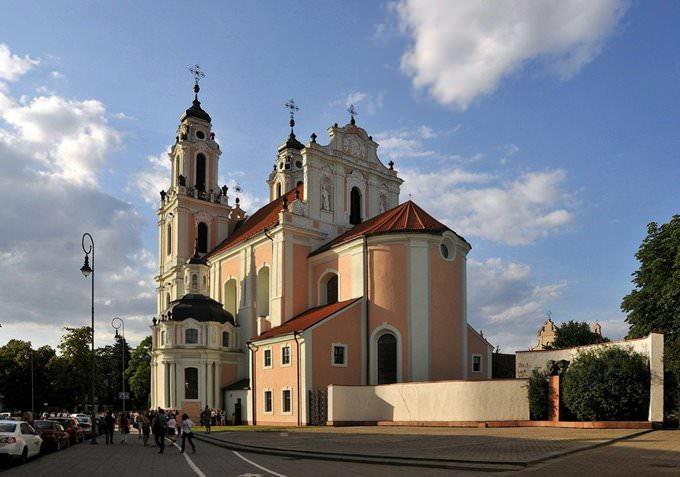 St Catherines Church Vilnius