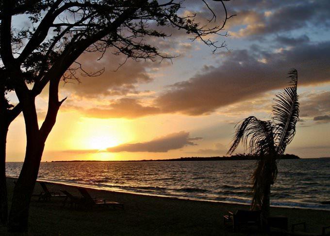 Sunset at Denarau