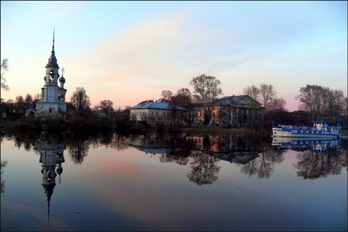 Vologda river