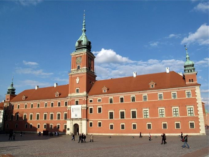 Former Royal Castle, Warsaw