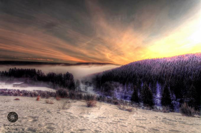 Winterberg at Dawn