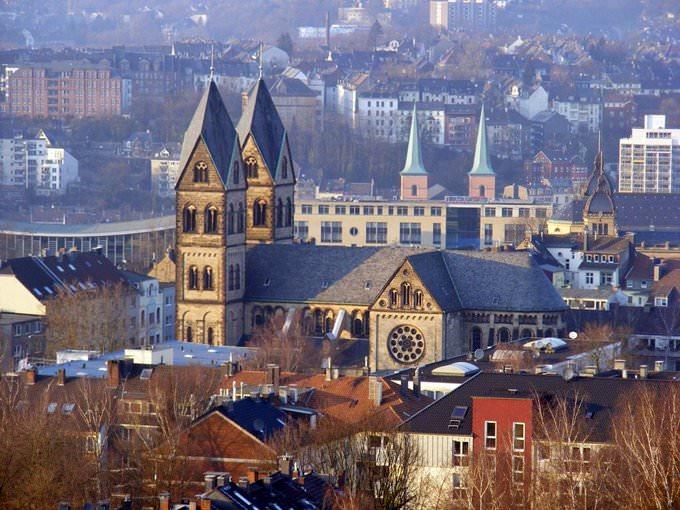 Wuppertal - Elberfeld Panorama