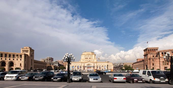 Armenia - Republic Square, Yerevan