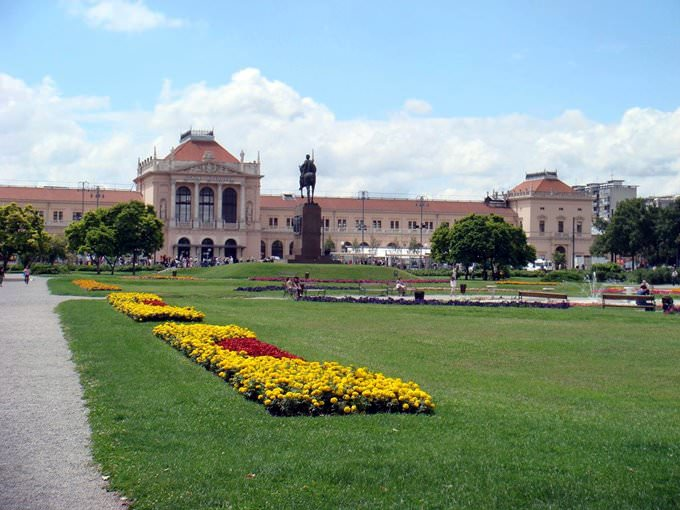 Zagrebs Train Station