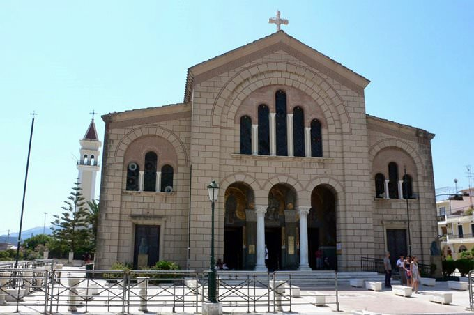 St Denis church, Zante town,Zakynthos