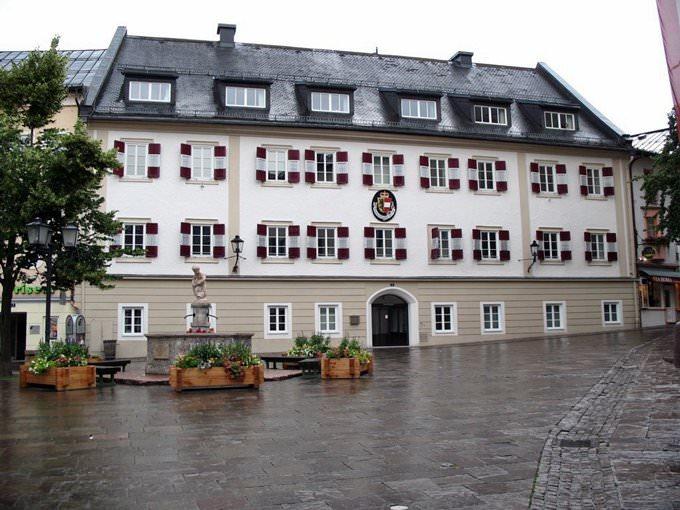 Zell am See - Stadtplatz