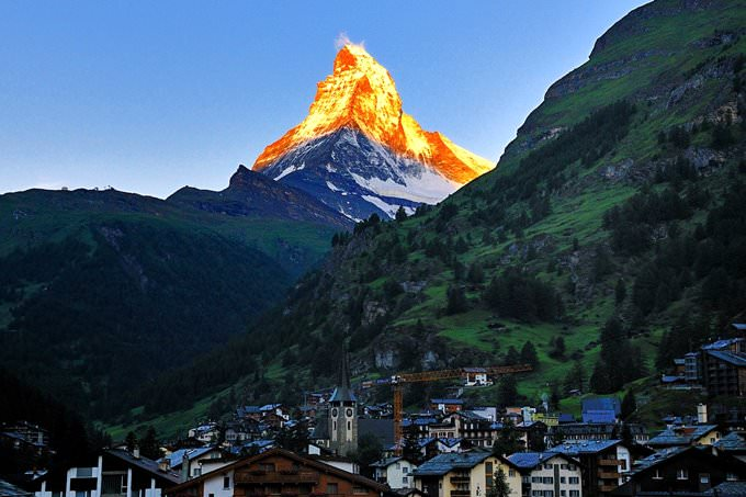 Dawn of Zermatt