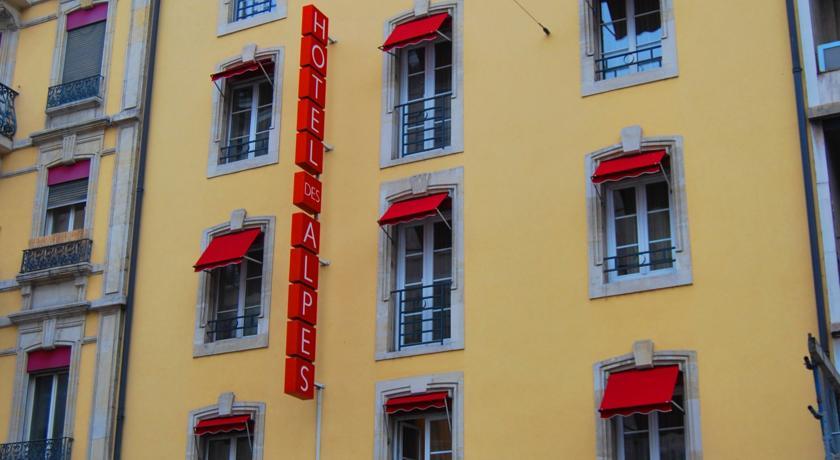 hotel des alpes geneve
