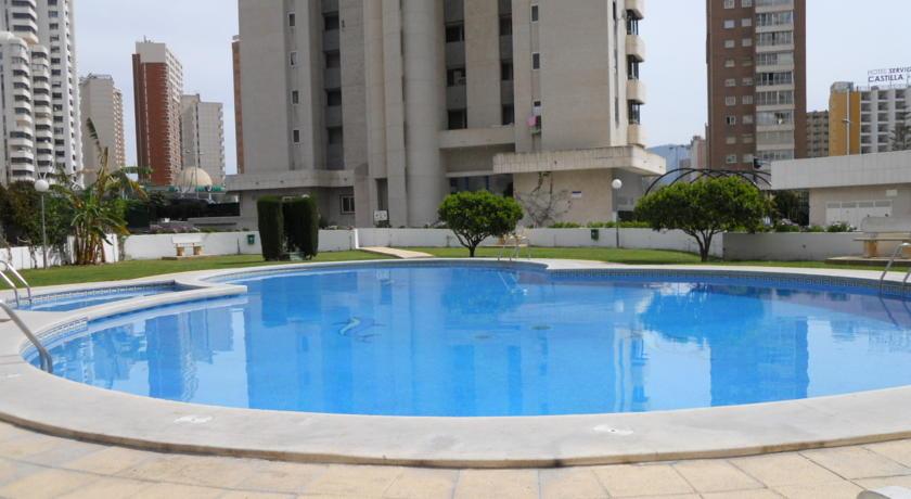 Апарт отель в бенидорме испания