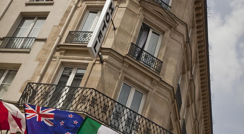 приличные и недорогие отели парижа