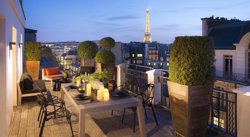 Фотография отеля Hôtel Marignan Paris