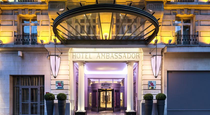 Фотография отеля Hotel Marriott Paris Opera Ambassador