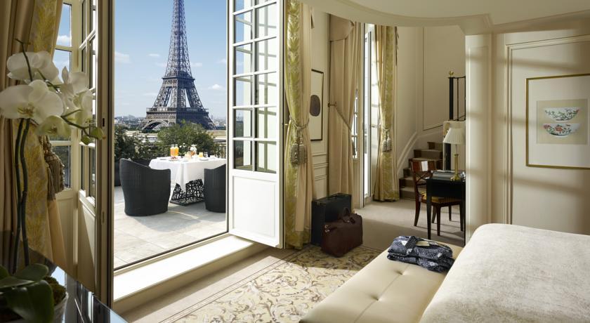 Картинки по запросу Shangri-La Hotel - Париж, Франция